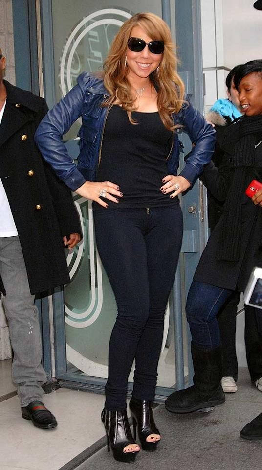 """Dear Mariah, you're still beautiful, but it's time to stop trying so hard and time to start dressing your age. Trago/<a href=""""http://www.wireimage.com"""" target=""""new"""">WireImage.com</a> - November 17, 2009"""