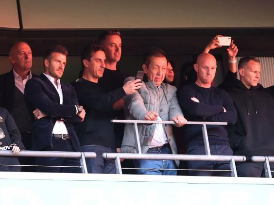 The Class of 92 have gone on to purchase Salford City (Reuters)