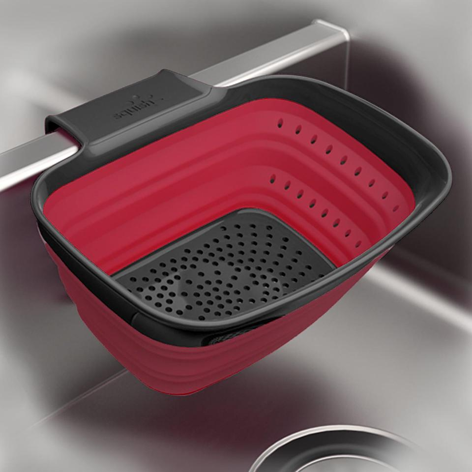 <p>This <span>Squish Plastic 2 Quart Over the Sink Strainer</span> ($14, originally $38) is great for washing fruit.</p>