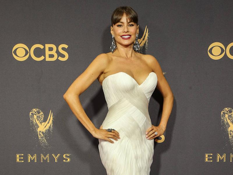 Sofia Vergara suffered in tight gown at her first Emmys