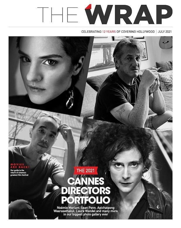 TheWrap Cannes issue cover