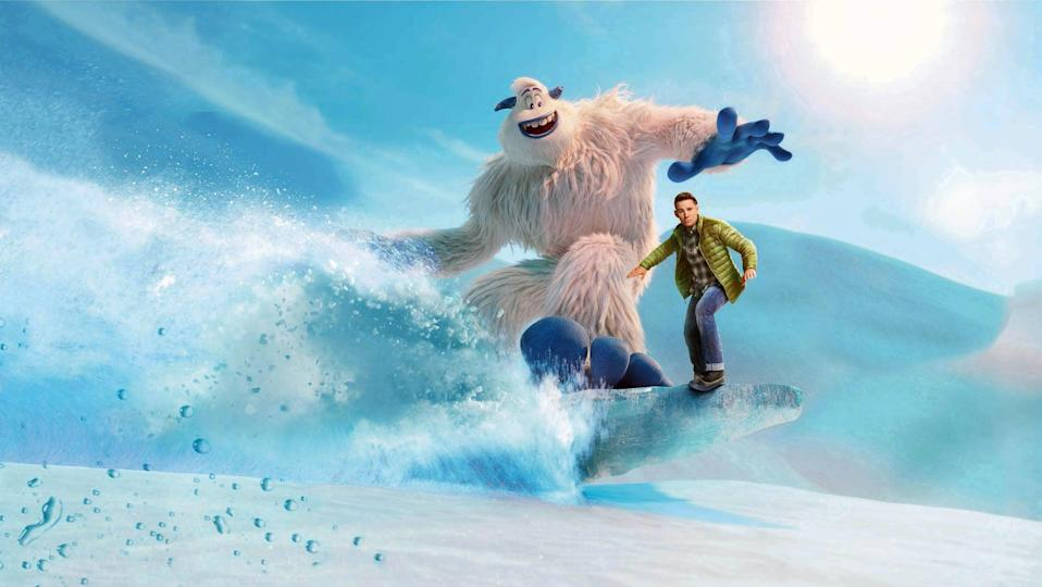 """<p><strong>HBO Max's Description:</strong> """"A young Yeti sets out to prove that the mythological creatures known as human beings really do exist in this fun animated adventure.""""</p> <p><a href=""""https://play.hbomax.com/feature/urn:hbo:feature:GXJPDsQO4lYqlUQEAAAA1"""" class=""""link rapid-noclick-resp"""" rel=""""nofollow noopener"""" target=""""_blank"""" data-ylk=""""slk:Watch Smallfoot on HBO Max here!"""">Watch <strong>Smallfoot</strong> on HBO Max here!</a></p>"""