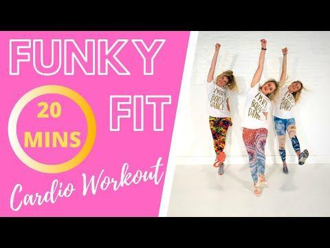 "<p>'Sassy, strong, sweaty... get ready to feel the funk and feel FIERCE,' says the Funky Fit instructors and we couldn't agree more. Get ready to move your body and get some exercise in, too. Love it. </p><p><strong>Equipment: </strong>None</p><p><a href=""https://www.youtube.com/watch?v=svtj5Sl142Q&ab_channel=FunkyMoves"" rel=""nofollow noopener"" target=""_blank"" data-ylk=""slk:See the original post on Youtube"" class=""link rapid-noclick-resp"">See the original post on Youtube</a></p>"
