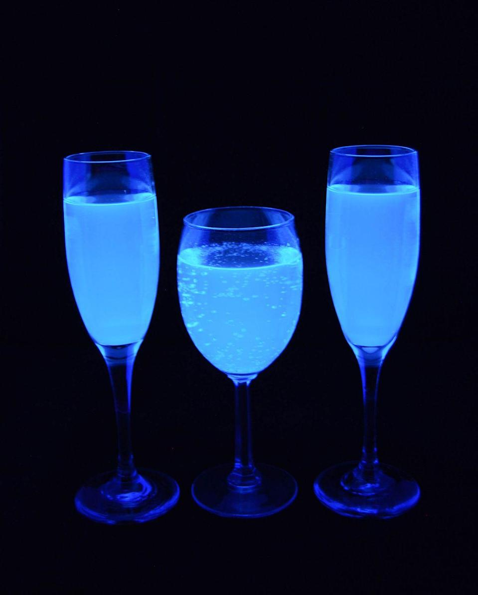 "<p>This amazing fizzy lemonade glows eerily under a black light.</p><p><a class=""link rapid-noclick-resp"" href=""https://www.girllovesglam.com/black-light-lemonade/"" rel=""nofollow noopener"" target=""_blank"" data-ylk=""slk:GET THE RECIPE"">GET THE RECIPE</a></p>"