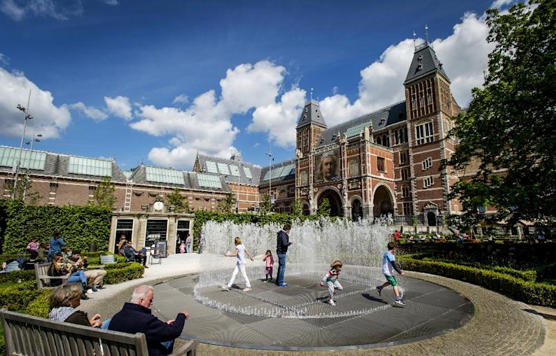 The Rijksmuseum in Amsterdam houses a large collection of Dutch art through the centuries, including many Rembrandts (AFP Photo/Robin van Lonkhuijsen)