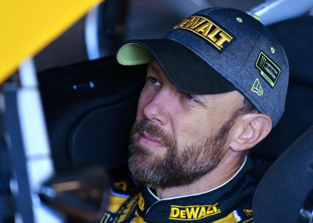 "<a class=""link rapid-noclick-resp"" href=""/nascar/sprint/drivers/81/"" data-ylk=""slk:Matt Kenseth"">Matt Kenseth</a> won the 2003 title with Roush Fenway Racing. (AP Photo/Ed Zurga)"