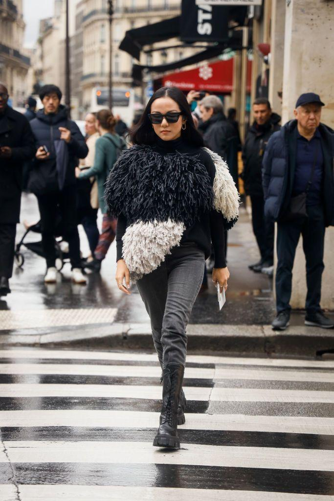 """<p>It's not a surprise that trendsetters feel like stomping around in shoes that carry some serious weight. Go for classic Doc Martens or lighten up in a streamlined version from Stuart Weitzman. </p><p><strong>More:</strong> <a href=""""https://www.townandcountrymag.com/style/fashion-trends/g34849860/best-combat-boots-women/"""" rel=""""nofollow noopener"""" target=""""_blank"""" data-ylk=""""slk:14 Coolest Combat Boots for Women"""" class=""""link rapid-noclick-resp"""">14 Coolest Combat Boots for Women</a></p>"""