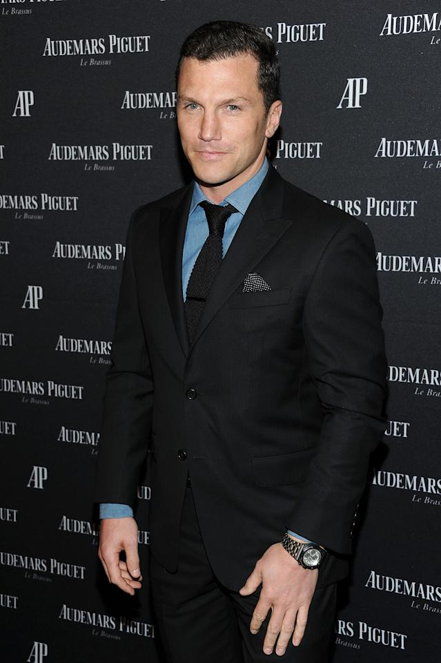 NEW YORK, NY - MARCH 21:  Sean Avery attends Royal Oak 40 Years: From Avant-Garde to Icon at Park Avenue Armory on March 21, 2012 in New York City.  (Photo by Jason Kempin/Getty Images)