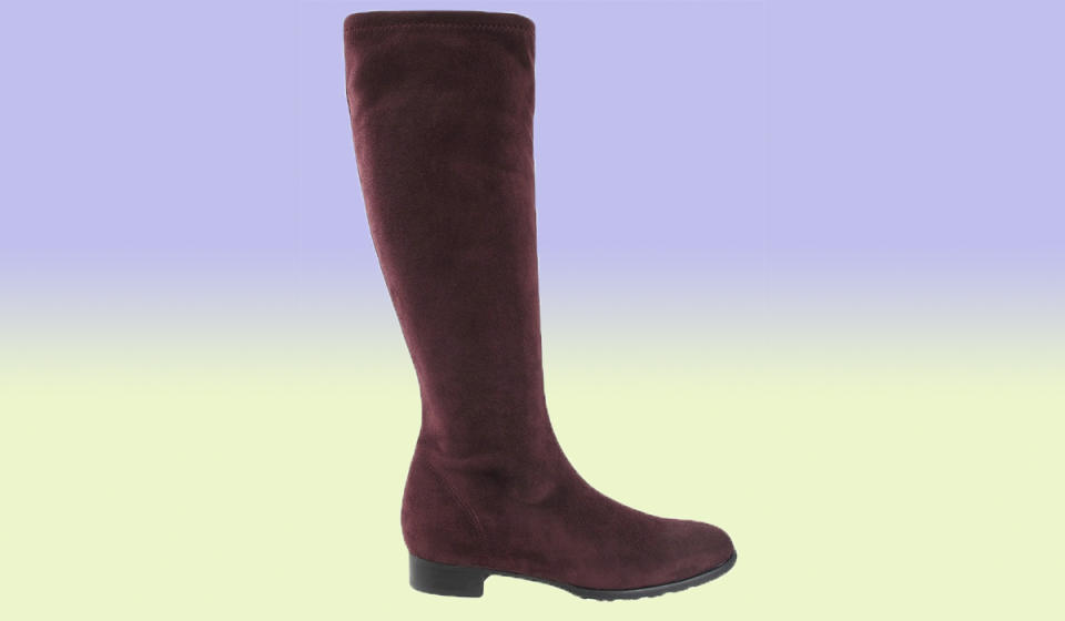 These tall boots have a cushioned insole for more comfort. (Photo: Nordstrom Rack)