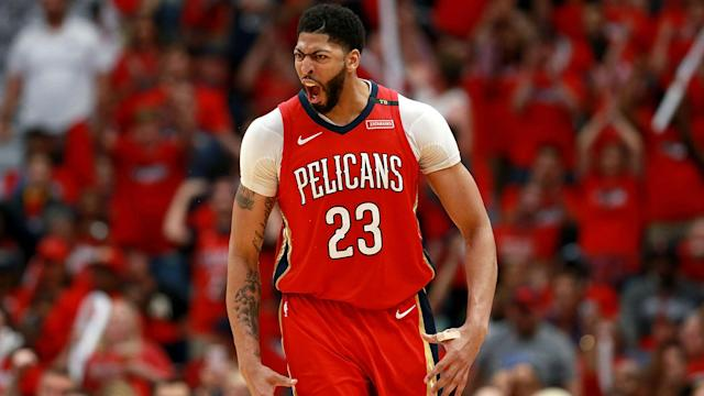 The Los Angeles Lakers officially acquired Anthony Davis from the New Orleans Pelicans on Saturday.