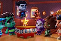 """<p>It's the holidays and the Super Monsters are ready to celebrate! This flick is great for all ages, so tell the little ones that the Christmas countdown is on.</p> <p>Watch <a href=""""https://www.netflix.com/title/80999067"""" class=""""link rapid-noclick-resp"""" rel=""""nofollow noopener"""" target=""""_blank"""" data-ylk=""""slk:Super Monsters and the Wish Star""""><strong>Super Monsters and the Wish Star</strong></a> on Netflix now.</p>"""