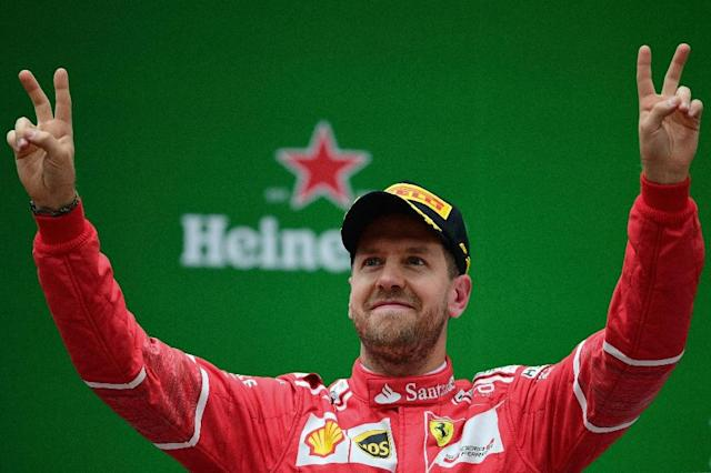 Sebastian Vettel has been crowned Formula One World Champion four times (AFP Photo/Johannes EISELE)