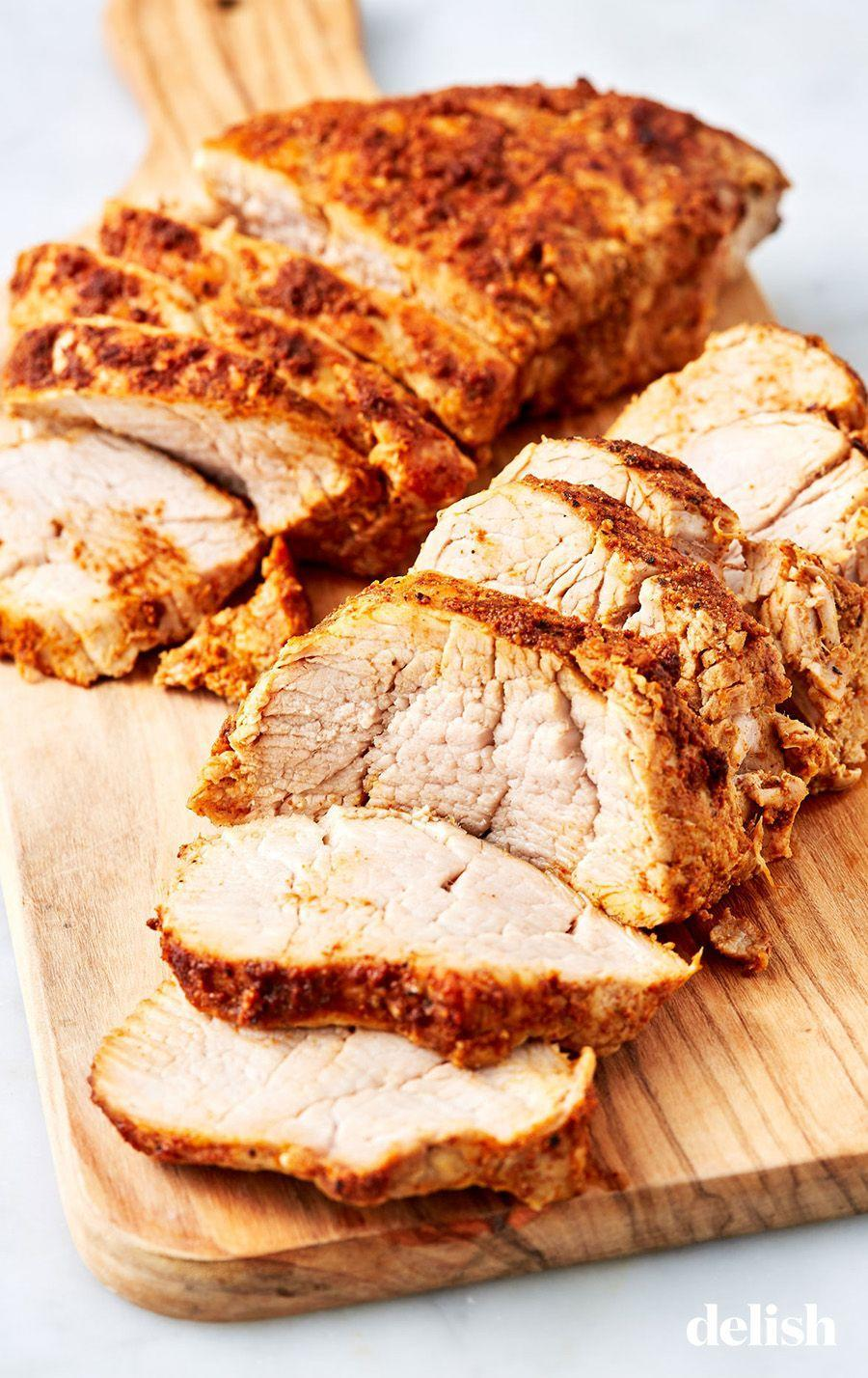 """<p>Last minute dinner guests? You can have a tender, juicy pork tenderloin in no time. </p><p>Get the recipe from <a href=""""https://www.delish.com/cooking/recipe-ideas/a27211563/instant-pot-pork-tenderloin-recipe/"""" rel=""""nofollow noopener"""" target=""""_blank"""" data-ylk=""""slk:Delish"""" class=""""link rapid-noclick-resp"""">Delish</a>.</p>"""