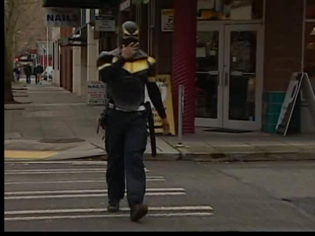 "It's not a bird, or a plane, and it certainly isn't superman. The ""self proclaimed"" superhero Phoenix Jones unmasked himself before cameras Thursday."