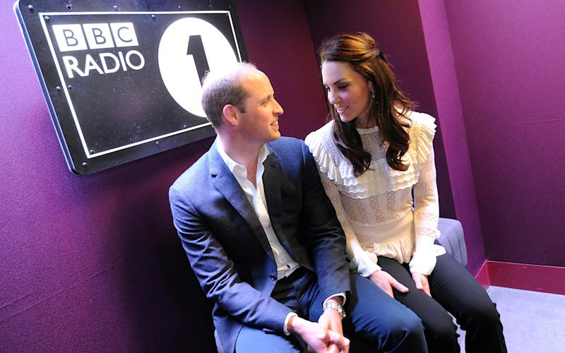 The Duke and Duchess of Cambridge gave unprecedented insight into their home life - Credit: BBC