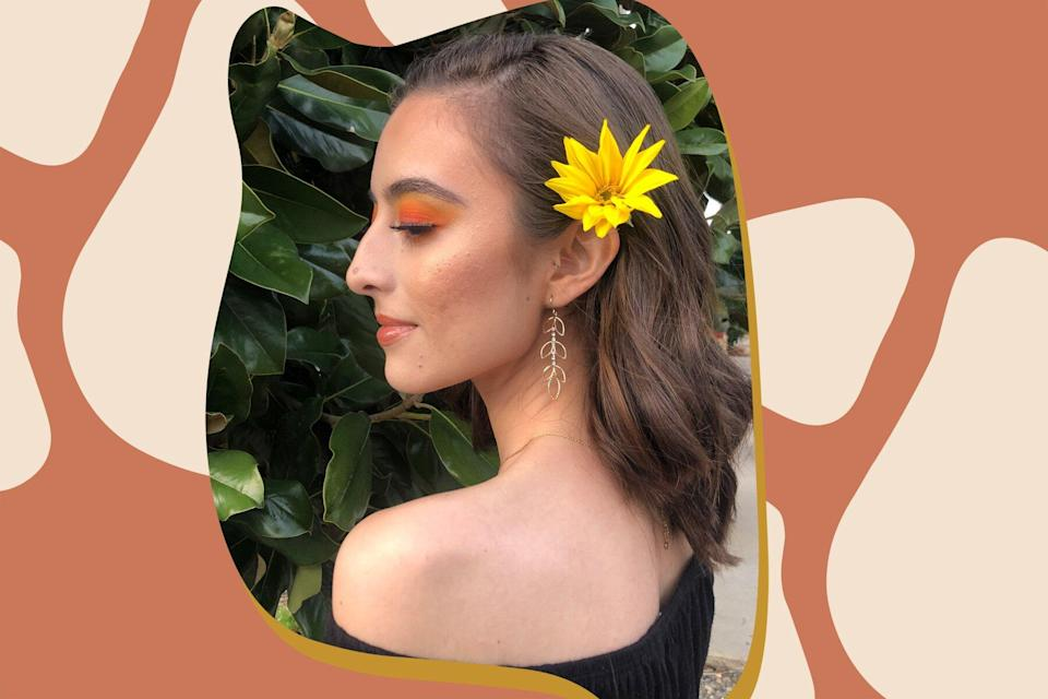 side profile self love image nose journey confidence uniquely you hellogiggles