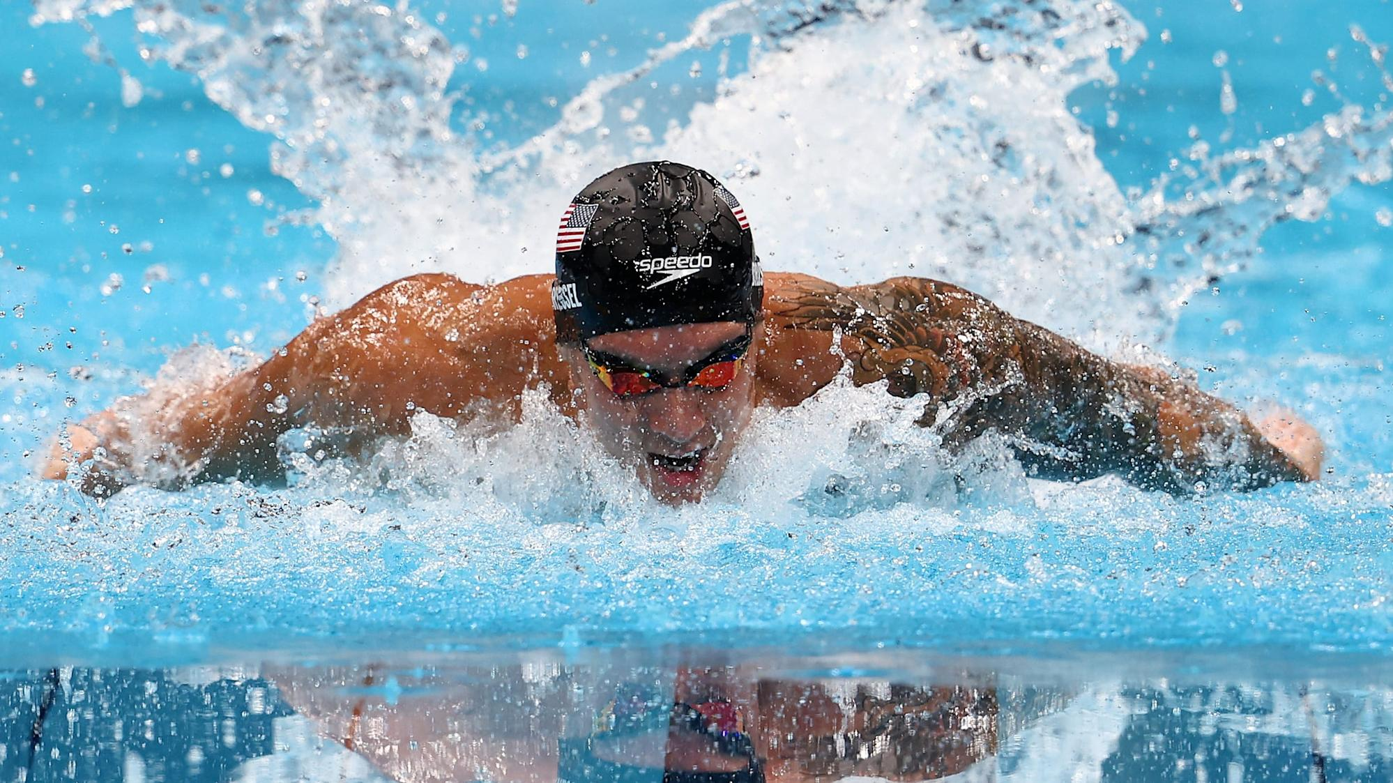 Caeleb Dressel breaks another world record in the Olympic Games - Yahoo Philippines News