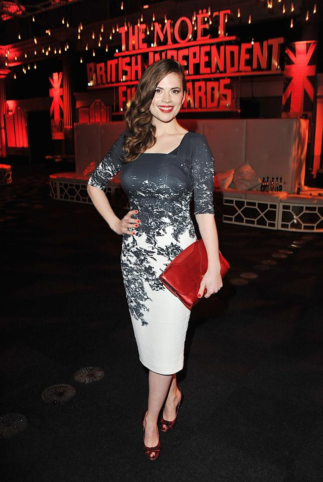 Hayley Attwell at the 2011 British Independent Film Awards on December 4, 2011 in London, England.