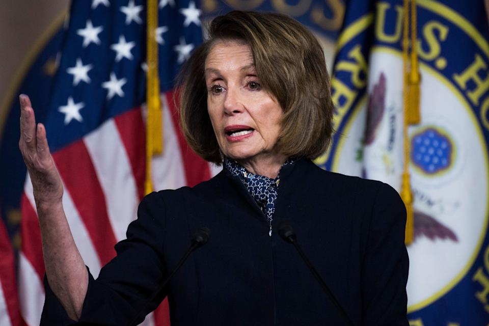 HouseDemocrats have nominated Rep. Nancy Pelosi (D-Calif.)to serve as the next speaker of the House. The NRA will likely target herpublicly if Democrats take up new gun control legislation this session. (Photo: Tom Williams via Getty Images)