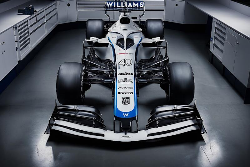 Williams unveils new 2020 livery