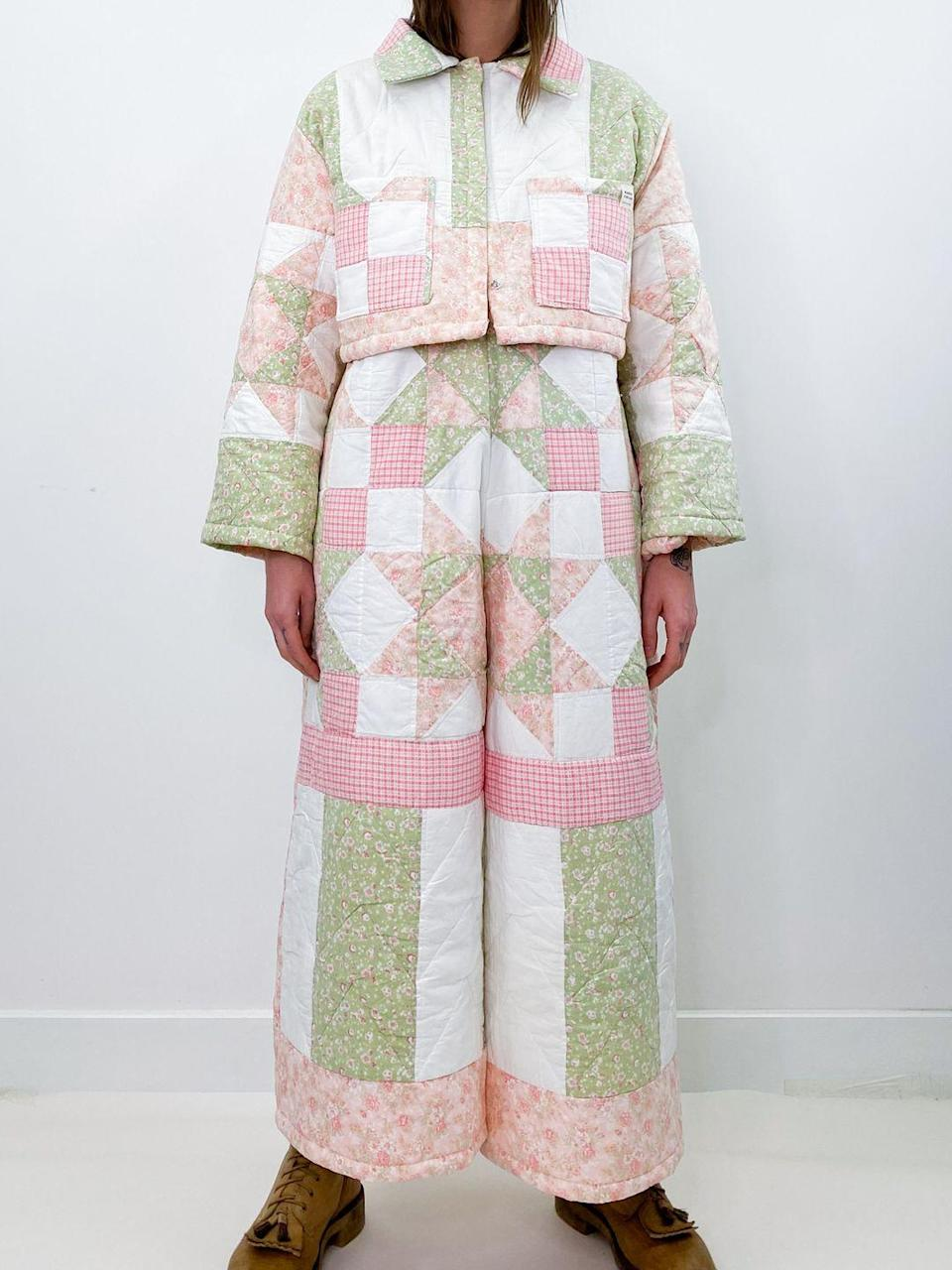 """<p>'Magpie is lovingly sourced and curated, avant garde, true, premium vintage, with every item being hand selected by myself,' Magpie Vintage owner Alice Lockspeiser told ELLE UK.</p><p>'I hugely believe in repurposing and salvaging and have recently launched my quilt and crotchet collections, turning old throws and blankets into wearable clothing and the response has been amazing.'</p><p><a class=""""link rapid-noclick-resp"""" href=""""https://www.magpievintageclothing.com/"""" rel=""""nofollow noopener"""" target=""""_blank"""" data-ylk=""""slk:SHOP MAGPIE VINTAGE NOW"""">SHOP MAGPIE VINTAGE NOW</a></p>"""