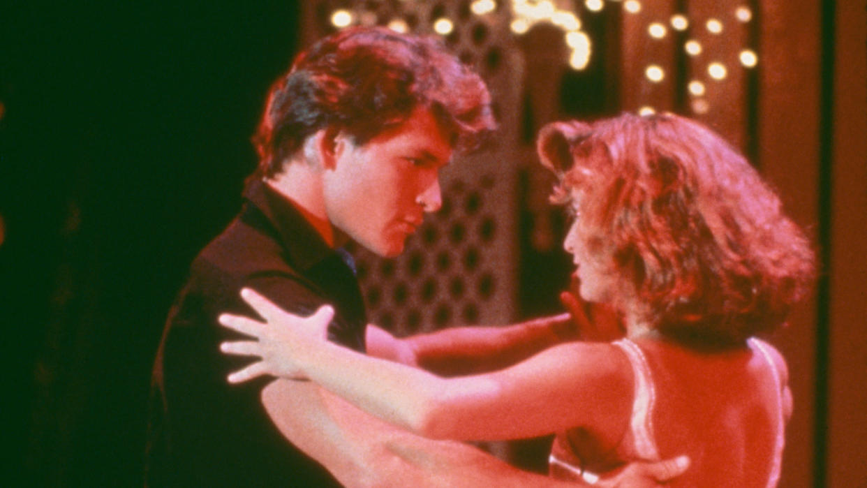 Celebrity contestants on 'The Real Dirty Dancing' will channel their best Patrick Swayze and Jennifer Grey. (Getty Images)