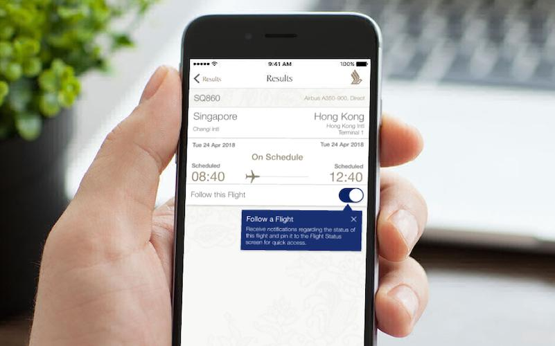 Singapore Airlines' iOS app could be recording your screens