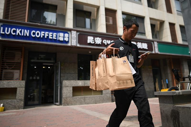 Startup Luckin Coffee plans to have more than 4,500 stores in China by the end of 2019, taking it past Starbucks
