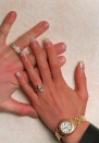 <p><strong>The specs: </strong>When David Beckham proposed to his Spice Girl love in 1998, he presented her with a three-carat marquise-cut diamond set on a plain yellow gold band. The ring reportedly cost around $85,000 at the time.<br><strong>The price:</strong> The ring reportedly cost around £65,500 at the time.<br>[Photo: Getty] </p>