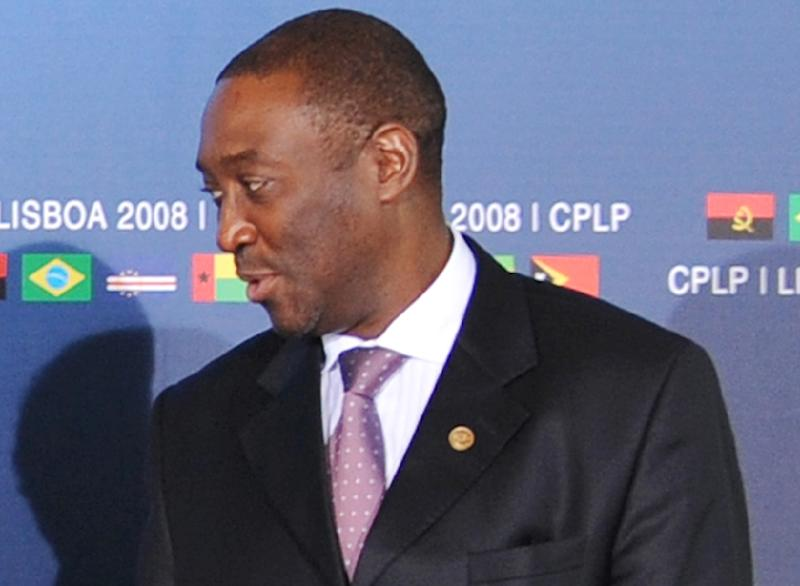 Guinea Bissau's deposed premier Domingos Simoes Pereira, pictured on July 25, 2008