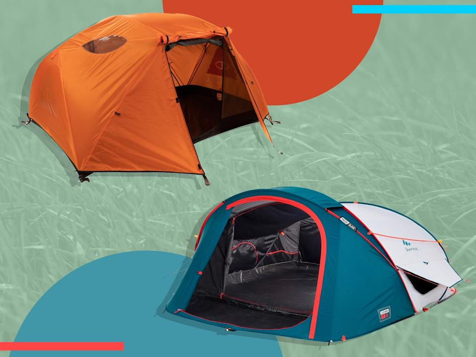 Our top festival tents can all be put together in 20 minutes or less (iStock/The Independent)