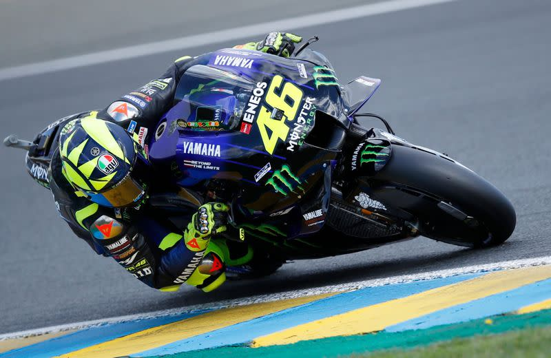 Motorcycling: Yamaha will not enter replacement for Rossi in Teruel Grand Prix