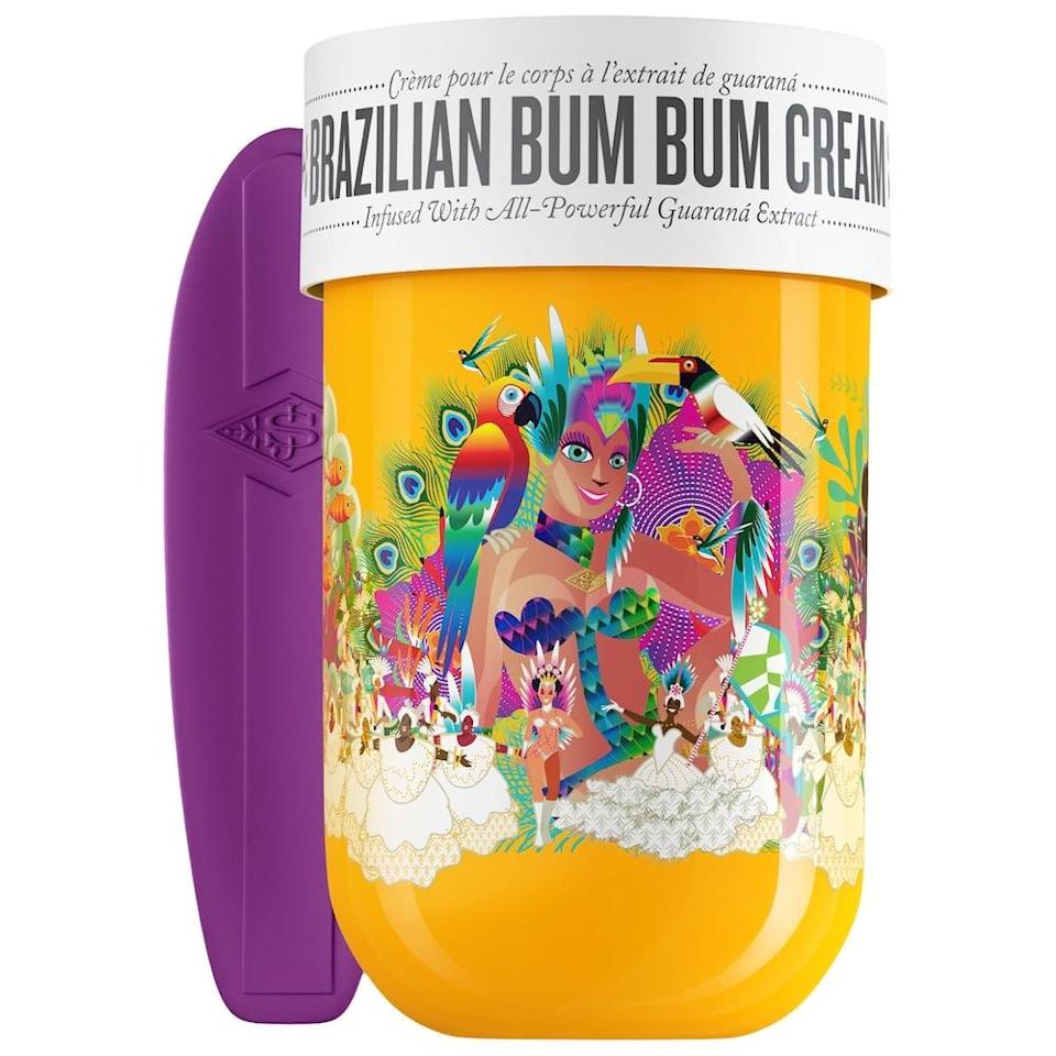 <p>They'll be obsessed with this <span>Sol de Janeiro Biggie Biggie Bum Bum Cream</span> ($76). It smells like heaven, and is so moisturizing.</p>