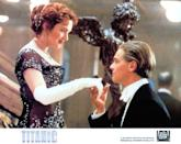 <p>One year later, DiCaprio hit Hollywood gold again with the story of <em>Titanic</em>. Kate Winslet plays Rose, who is on the maiden voyage with her fiancé. She meets Jack, a starving artist, who discourages her from suicide. The two <em>very</em> slowly became friends. Rose comes alive when she goes to a party with Jack, and then of course when he paints her. Jack is arrested just as the ship is sinking, but Rose frees him from the office. Despite making it through <em>so </em>many challenges, the two wind up in the water. Rose climbs up on it, but Jack dies of hypothermia. </p>