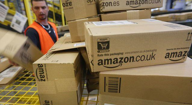 E-commerce giant Amazon could be up and running in Australia as soon as Friday. Photo: Getty