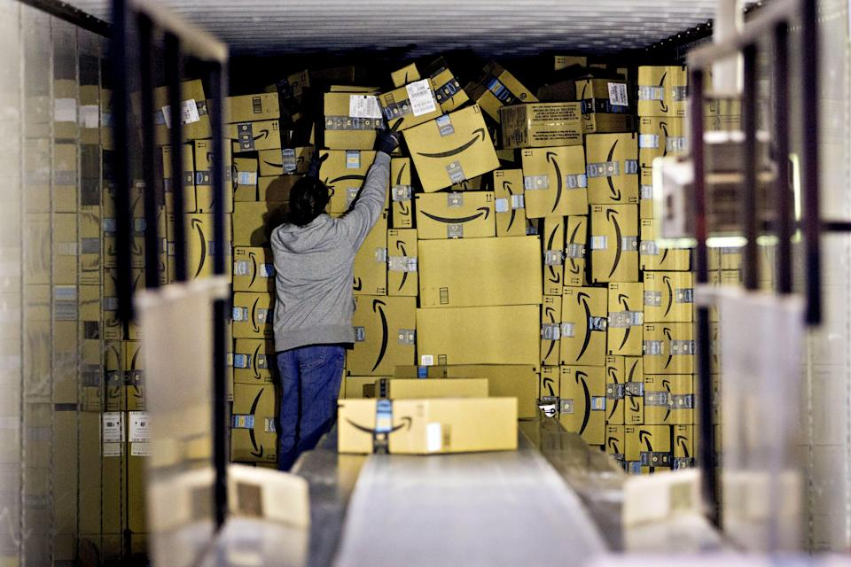 A group of employees is asking Amazon to improve working conditions at a Minnesota warehouse.