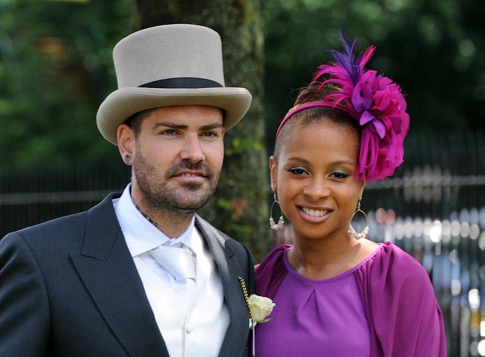 ASCOT, UNITED KINGDOM - JUNE  16:  Shane Lynch and Sheena White attend Ladies Day at Royal Ascot on June 16, 2011 in Ascot, United Kingdom.    (Photo by Anwar Hussein/WireImage)