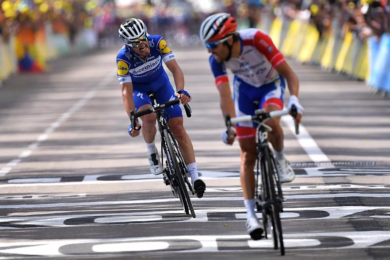 TOUR de FRANCE - IMPEY en duel