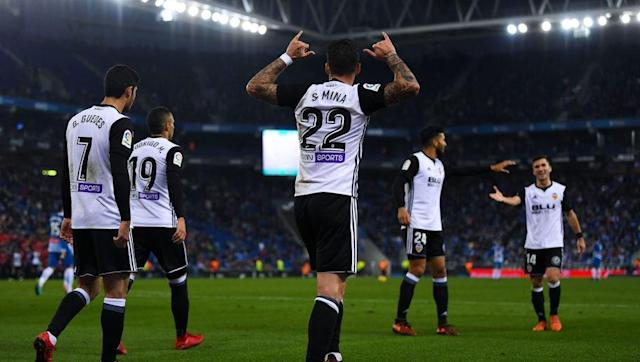 <p>Perhaps Santi Mina has become more known by some after Valencia's terrific start to 2017/18 in which they were level-pegging with Barcelona.</p> <br><p>Los Che have since dropped off a bit and now sit third in the table, but Mina has had a pretty good season, scoring five goals and assisting once.</p> <br><p>He is not a guaranteed starter at the Mestalla though, and Bournemouth are in need of a new winger with Junior Stanislas, Ryan Fraser (both currently injured) and Jordon Ibe the only real options for Eddie Howe.</p>