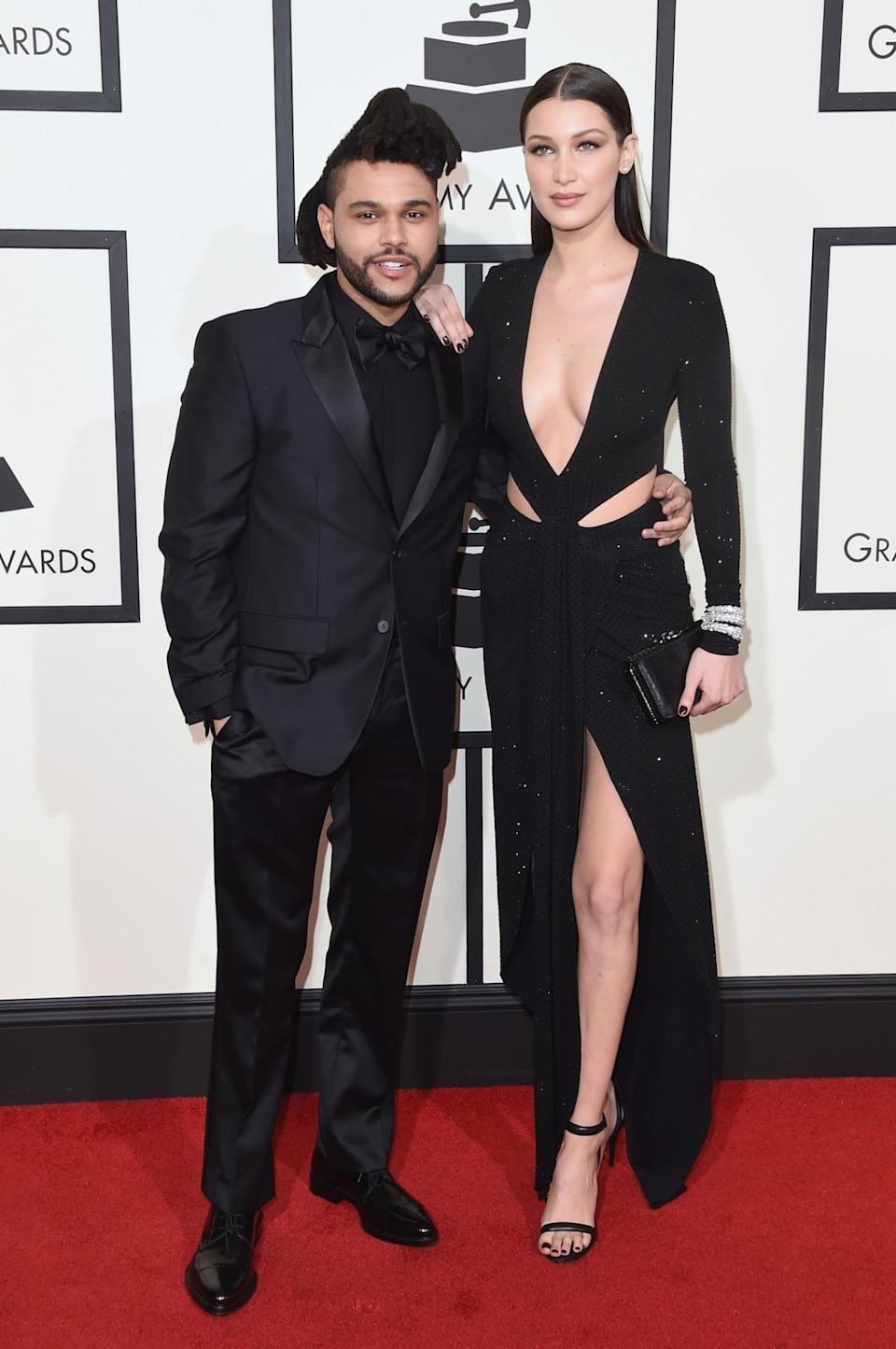 <p>Although not an official Angel, Bella will still be taking to the Victoria's Secret runway for the first time next month. The It model and reigning king of music have been together for just over a year and still seem to be going strong despite the incessant break-up rumours. <i>[Photo: Getty]</i> </p>