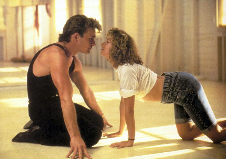 Patrick Swayze and Jennifer Grey in 'Dirty Dancing' (Photo: Artisan)