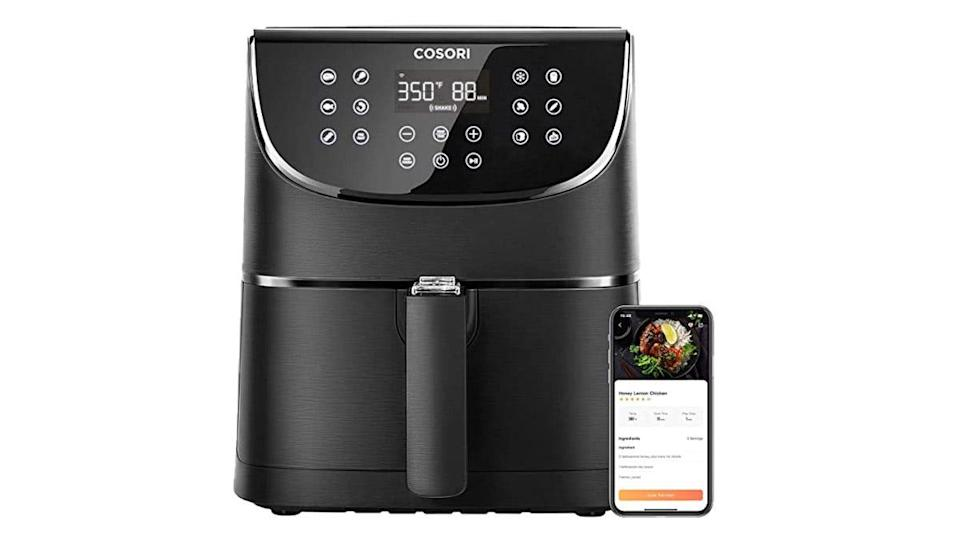 Make your kitchen even smarter with this voice- or app-controllable air fryer.