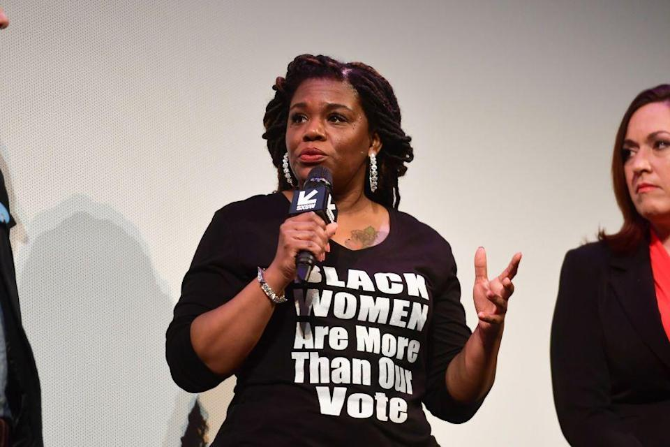 """<p>Democrat Cori Bush has been elected to congress making her the first Black congresswoman for the state of Missouri. You might remember Bush from the <a href=""""https://www.elle.com/uk/life-and-culture/culture/g31976667/best-documentaries/"""" rel=""""nofollow noopener"""" target=""""_blank"""" data-ylk=""""slk:brilliant documentary"""" class=""""link rapid-noclick-resp"""">brilliant documentary </a><a href=""""https://www.elle.com/uk/life-and-culture/culture/g31976667/best-documentaries/"""" rel=""""nofollow noopener"""" target=""""_blank"""" data-ylk=""""slk:Knock Down The House"""" class=""""link rapid-noclick-resp"""">Knock Down The House</a> which followed Bush, along with three other female Democrats running for congress in the 2018 mid-terms (including Alexandra Ocasio-Cortez). Bush did not win then, but she has now.</p>"""