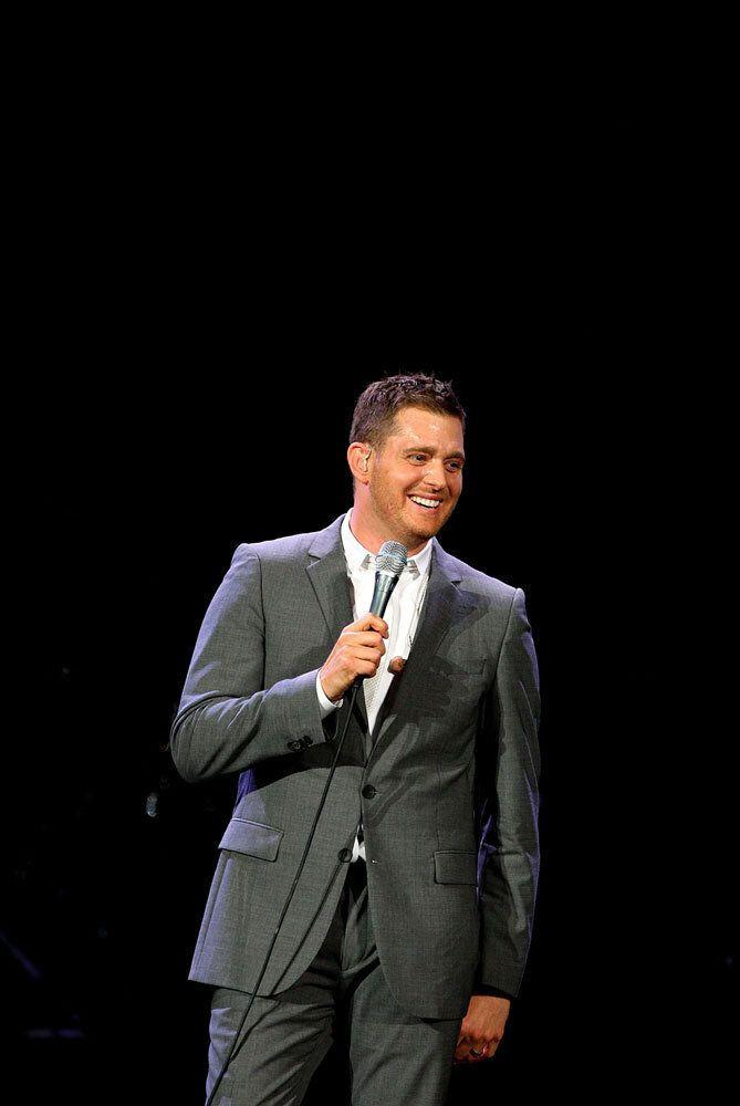 This may come as a shock, but apparently Michael Buble is a little precious about his personal grooming. Although for precious, you could just as easily read 'demented'. The crooner once asked for a ludicrous 84 dressing-room towels to be delivered. He also wanted his roast beef to come in a 'shrink-wrapped resealable pouch', presumably to nibble on later. Getty