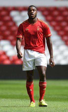 Football - Nottingham Forest v Swansea City - Pre Season Friendly - The City Ground - 15/16 - 25/7/15 Nottingham Forest's Britt Assombalonga Mandatory Credit: Action Images / Alan Walter