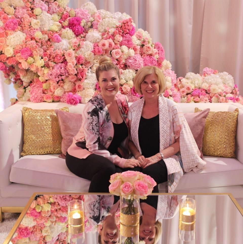 Cathy and Catherine Wayman of C. Wayman Floral and Events
