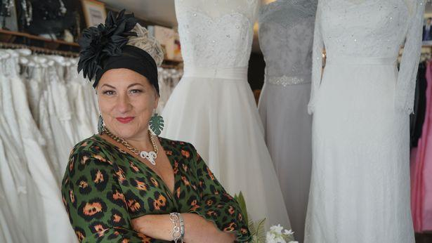 South Wales wedding dress designer Samm Buca changed her name to honour her favourite drink.
