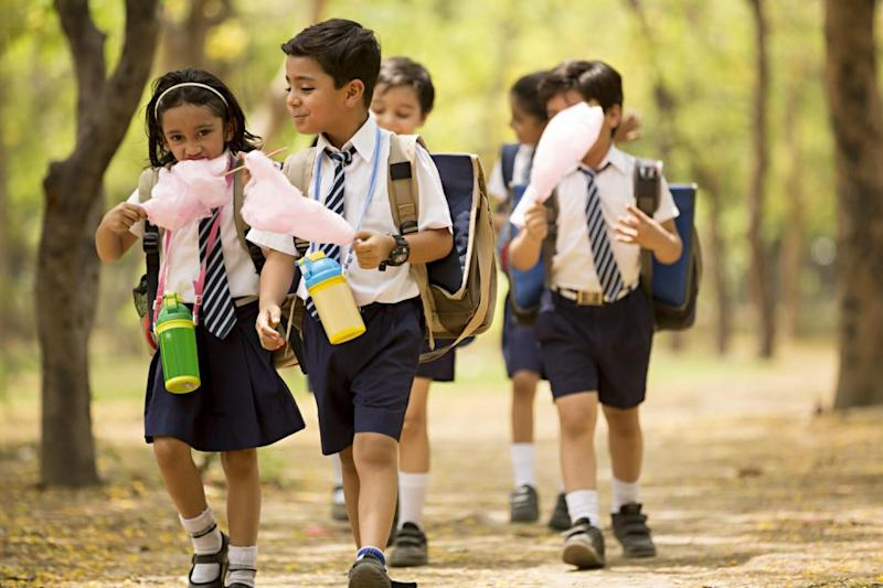 Should children be allowed to walk to and from school alone? Photo: Getty
