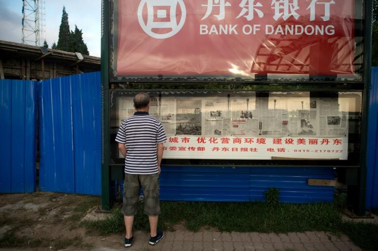 In June, the United States slapped sanctions on the Bank of Dandong, a Chinese bank located at the border with North Korea