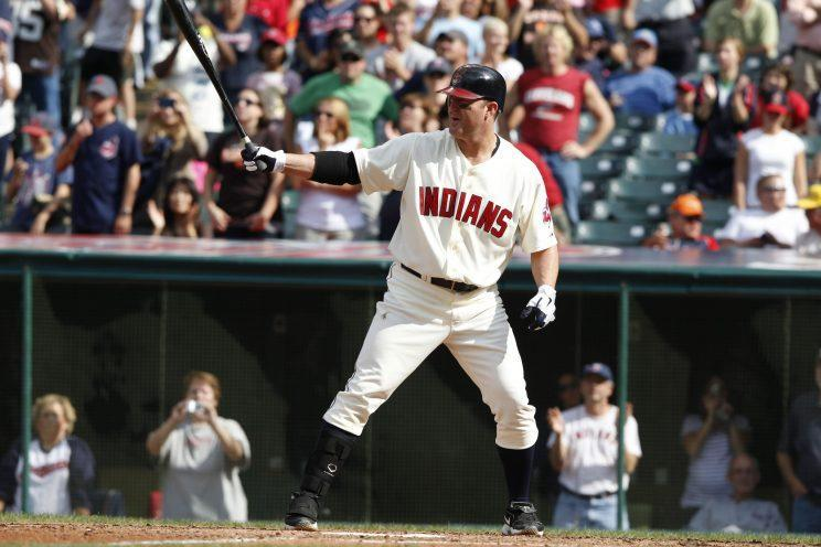 Jim Thome's numbers should get him into the Hall of Fame eventually. (Getty Images/David Maxwell)